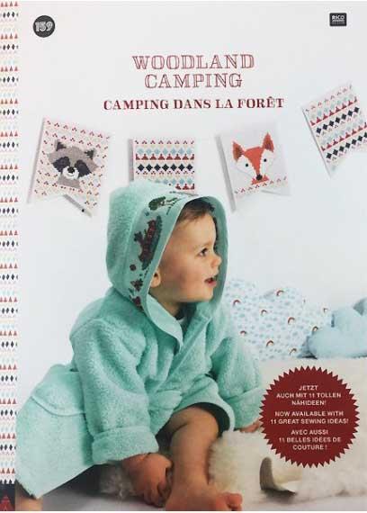 159 livre point de croix woodland camping1