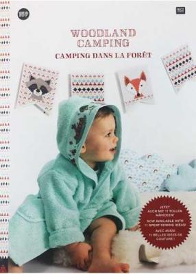 Livre N° 159 Camping dans la forêt Rico Design