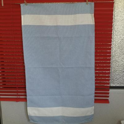 Torchon Nid d'Abeille 47x80 cm Couleur Bleu