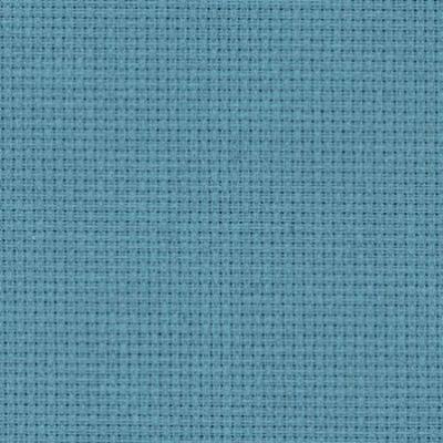 Toile à Broder Zweigart Aïda 5.4 Pts 3706 Bleu orage 594