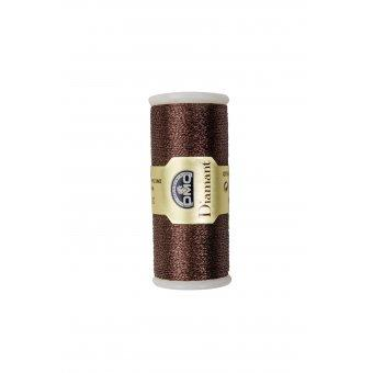 Fil à Broder DMC Diamant Art.380B D898 Chocolat