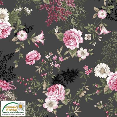 Tissus Patchwork Stof Juliet Roses 4500 744