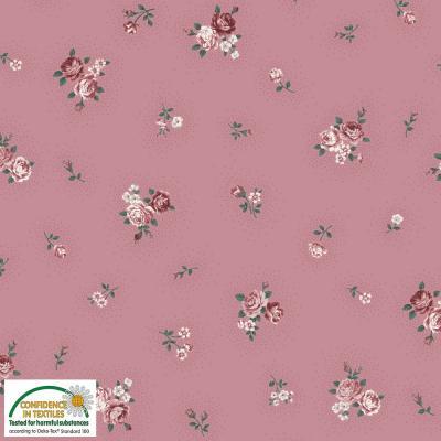 Tissus Patchwork Stof Emily Roses 4501 020