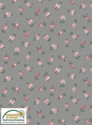 Tissus Patchwork Stof Emily Roses 4501 028