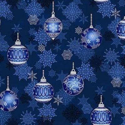 Tissu Patchwork It's Snowflake Christmas Ornaments M002
