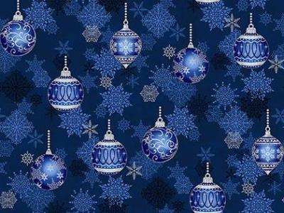 Tissu Patchwork It's Snowflake Christmas Ornaments M002