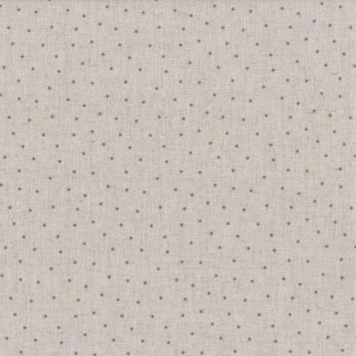 Tissus Patchwork Stof Lin Shabby Chic Points Gris ST18-106