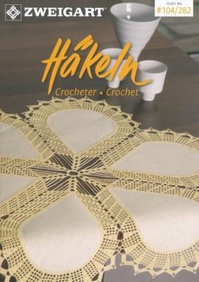 Livre N°104/282 Zweigart Hakeln Crocheter . Crochet