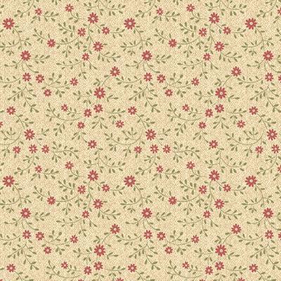 Tissu Patchwork Bernatex 7629 Eli Ann Petites Fleurs