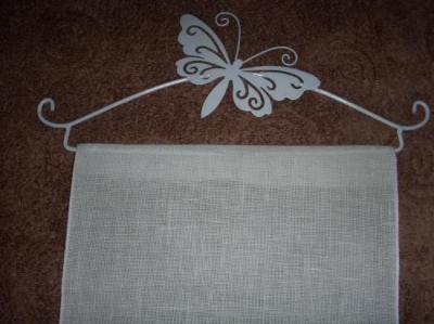 Bande de Lin Blanc Crème 20cm Rico Design