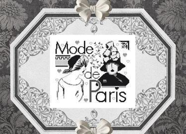 A la mode de Paris LI22 Isabelle Haccourt Vautier