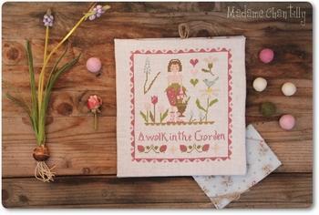 A walk in the Garden Madame Chantilly