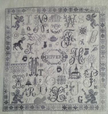 Le Fol ABC d'Hiver ref. : 1006 Histoires de Lin