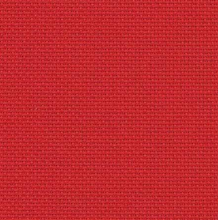 Aida 7pts couleur rouge 954