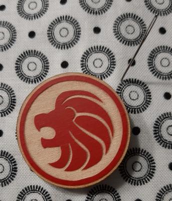 Aimant Porte Aiguilles 'Lion'
