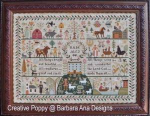 All creatures great and small barbara ana designs