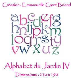 Alphabet du jardin jaj04 alice and co