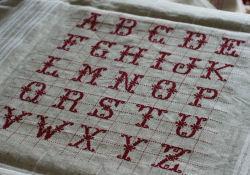 Alphabet Nappe ANA01 Alice and Co