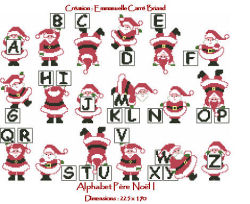 Alphabet pere noel nal01 alice and co