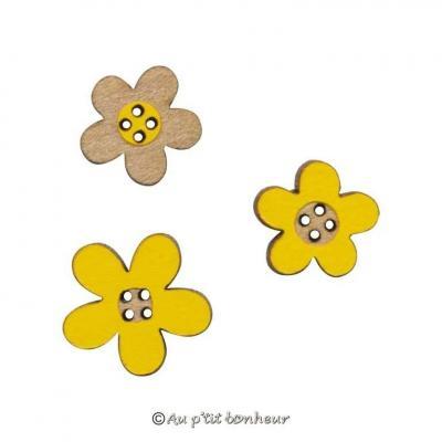 Assortiment de Petites Fleurs Jaunes