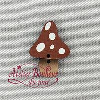 Champignon haut couleur tomette AU-02-T - Atelier Bonheur du jour