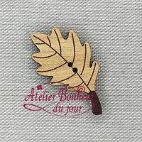 Feuille de chêne AU-06-B - Atelier Bonheur du jour