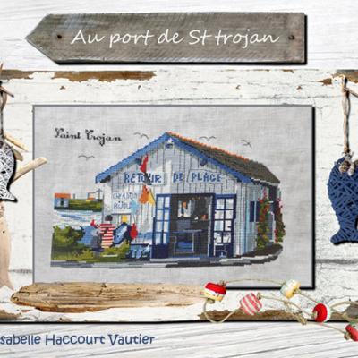 Au Port de St Trojan ISA18 Isabelle Haccourt Vautier