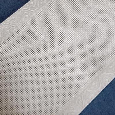 Bande à Aïda 5.5 Blanche liseré Blanc 12,5cm coloris 12 Zweigart