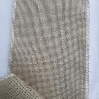 Bande Aïda en Lin 5.2 Pts Liseré Blanc en 12,5 cm