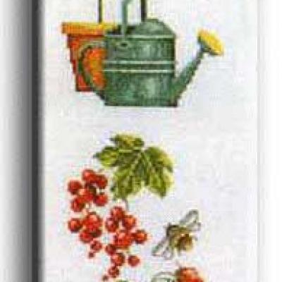 La bannière de jardin N°702 Au Fil de Martine