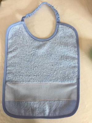 Bavoir Bleu 25x32cm