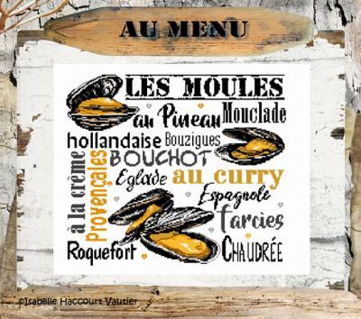 Les Moules BDN53 Isabelle Haccourt Vautier