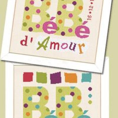 Bébé d'amour B006 Lilipoints