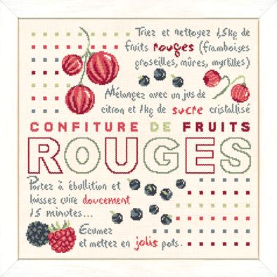 Confiture fruits rouges G019 Lilipoints