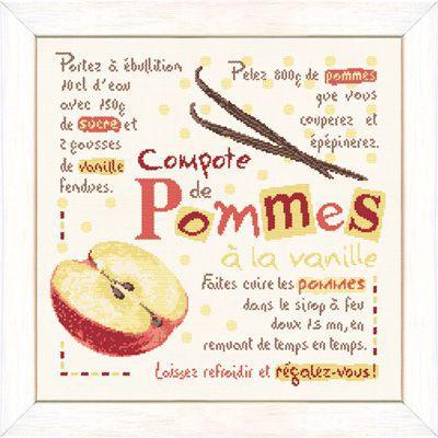 La compote de Pommes G032 Lilipoints