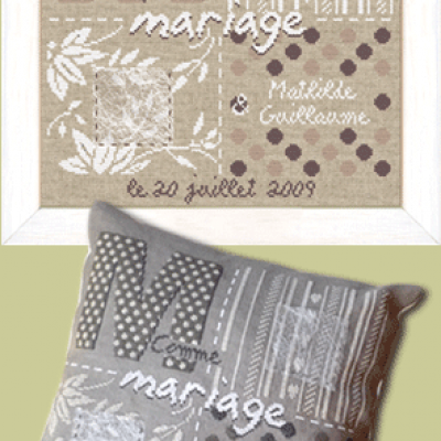 M comme Mariage M009 Lilipoints