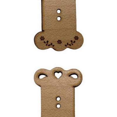 Bouton Cartonnette BLB011-BLB012  Au P'tit Bonheur
