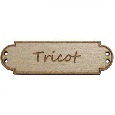 Bouton Bois Tricot BLD052  Au P'tit Bonheur