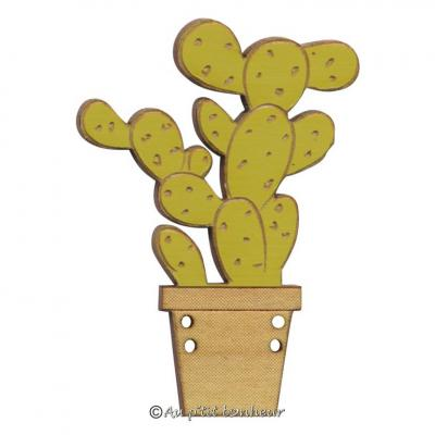 Cactus Figuier vert clair érable BLF137-050