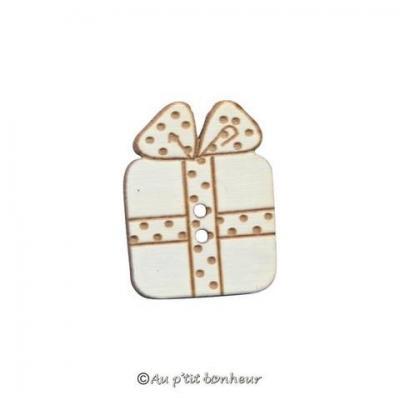 Paquet Cadeau Blanc à Pois BLN109
