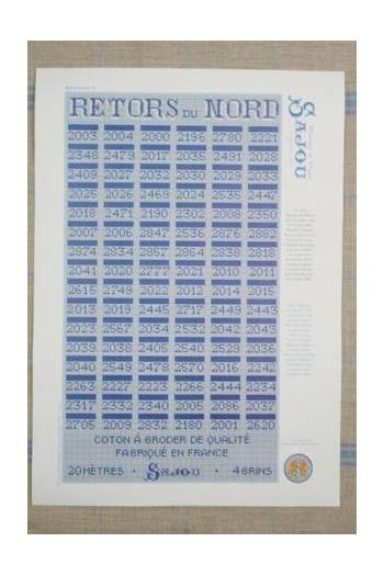 Boite collection complete 96 cartes retors du nord sajou2