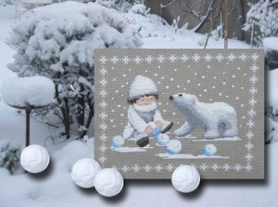 Boules de neige N°987 Au Fil de Martine