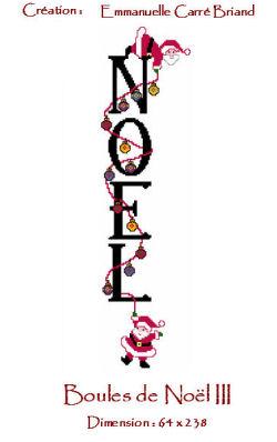 Boules de noel nbn03 alice and co