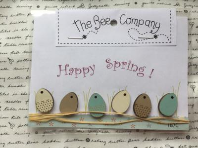 Boutons Oeufs TB7C - The Bee Company