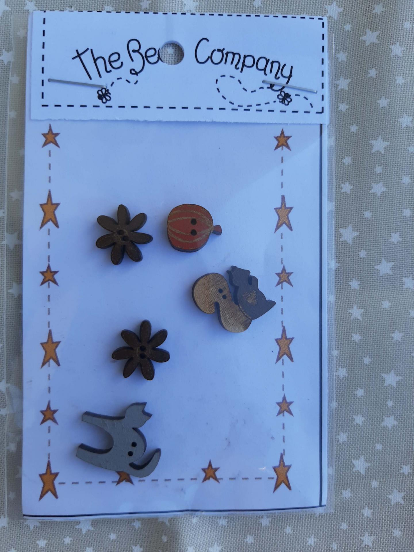 Boutons nichoirs d automne the bee company