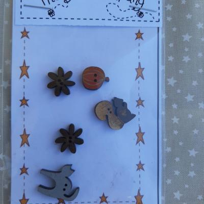 Boutons nichoirs d' automne The Bee Company