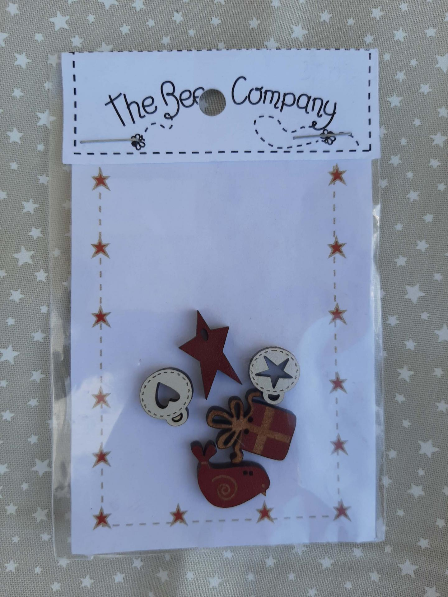 Boutons nichoirs noel the bee company