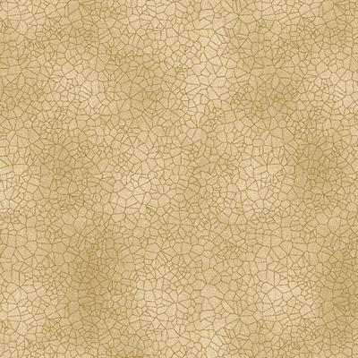 Tissu Patchwork Bronze craquelé