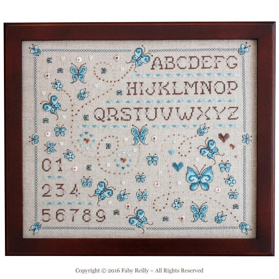 Butterfly sampler faby reilly designs 1