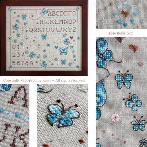 Butterfly sampler faby reilly designs
